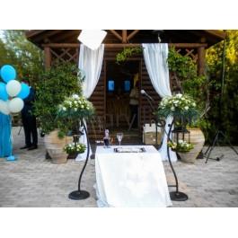 Εναλλακτικές λαμπάδες γάμου με κρεμαστά φανάρια