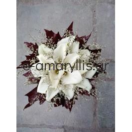 Λευκές Κάλλες και Φύλλα Κέδρου